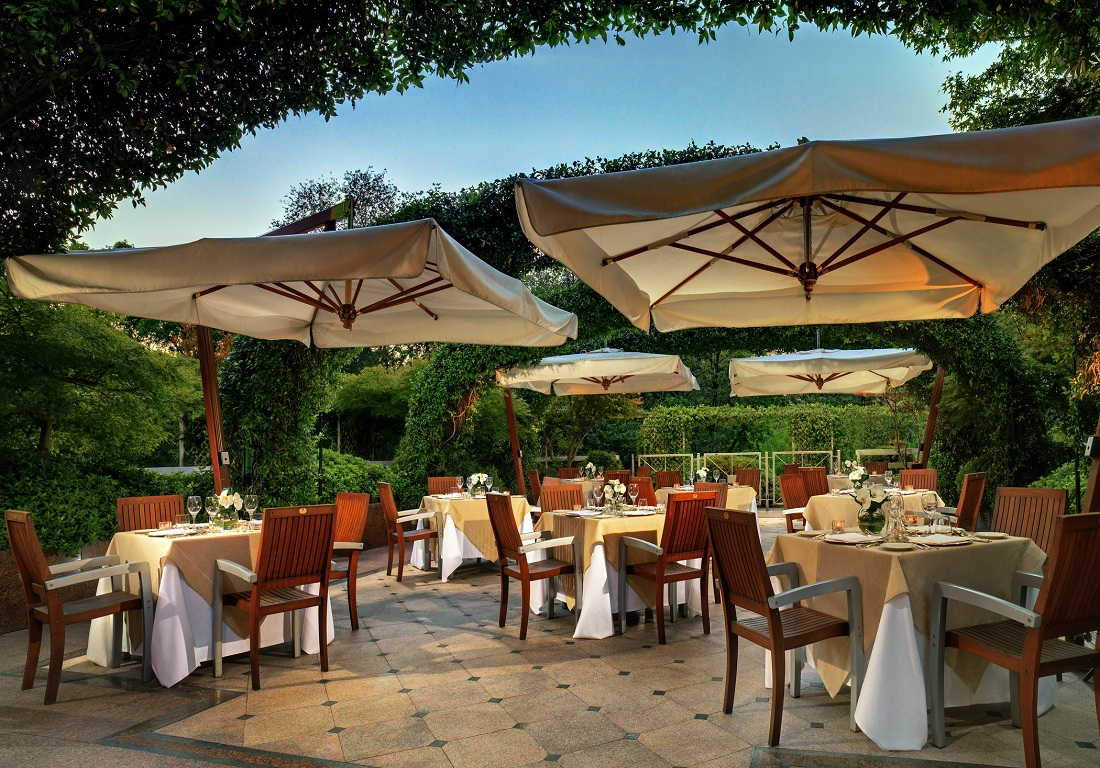 Ivory Restaurant on the Terrace, Milan