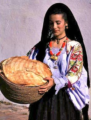 Sacred Sardinian Bread Delicious Italy