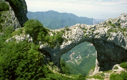 Mount Forato in the Apuan Alps