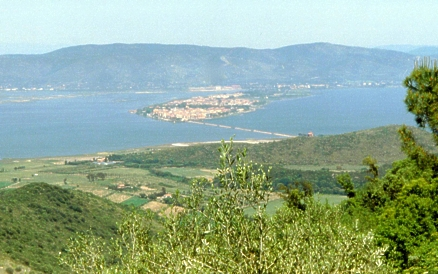 View of Orbetello