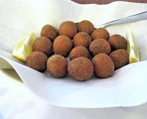 Classic stuffed olives from Ascoil