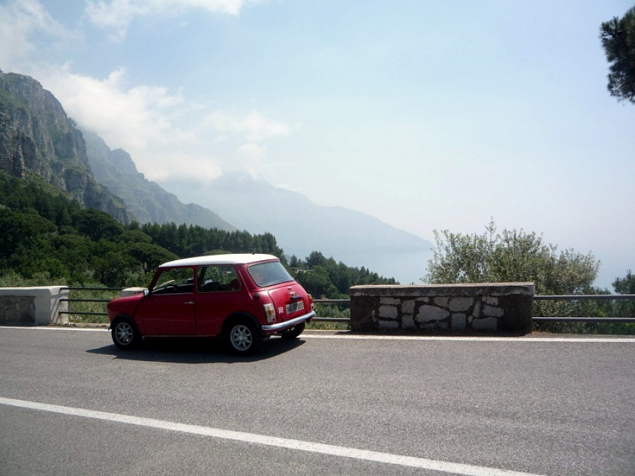 Classic Convertible Car Hire Italy