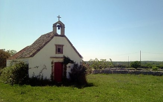 Country church in the Masseria Murgia Albanese near Noci