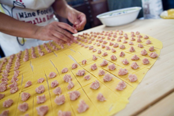 Authentic Tortellini from Bologna