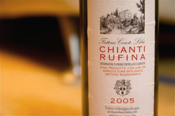 Chianti Rufina arrives in Florence