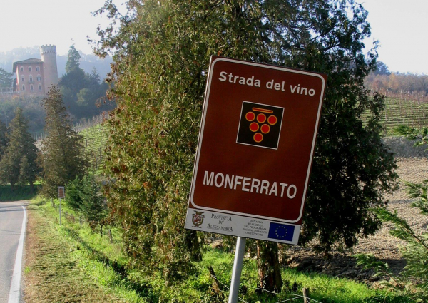 Monferrato Wine Route in Piedmont