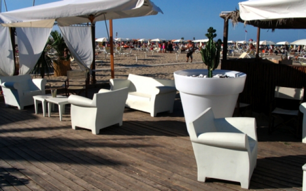 The beach of Rimini