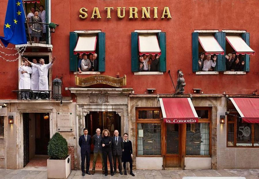 Hotel Saturnia Venice Restaurant