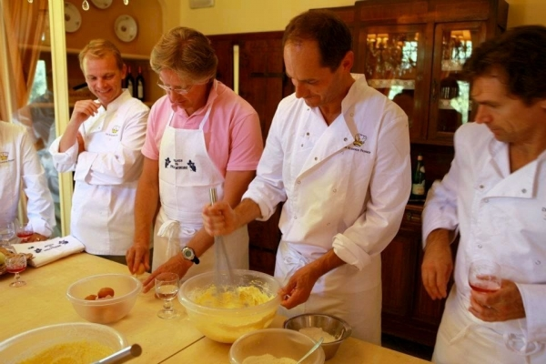 Cooking courses in Cortona by Relais il Falconiere