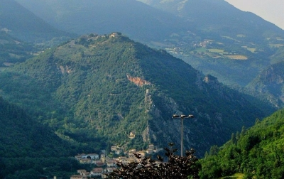 The Valnerina between Umbria and Le Marche