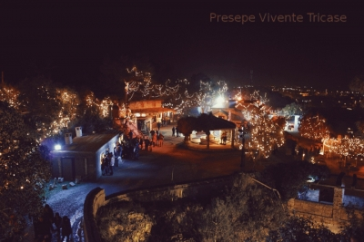 View of the Presepe of Tricase