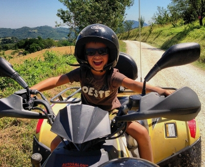 Quad biking in Le Marche with Le Marche Holiday