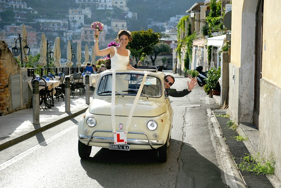 Classic Cars for your Italian Wedding - Delicious Italy